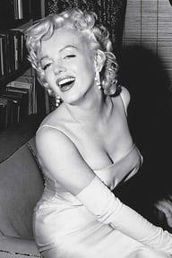 la silhouette en X Marilyn Monroe