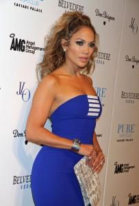 silhouette en A, s'habiller selon sa morphologie - Jennifer Lopez
