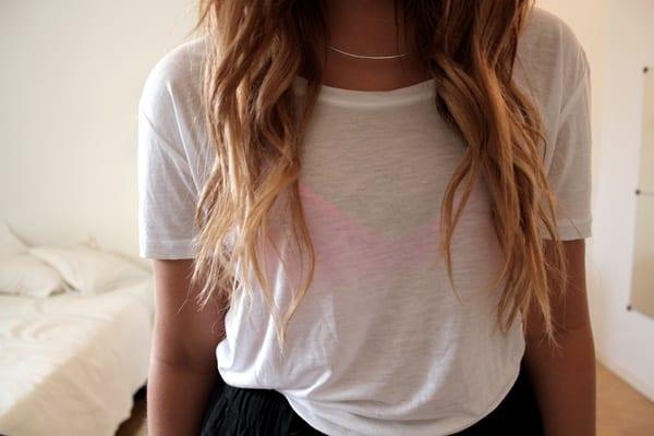 tout neuf 7e2eb 97e75 Comment porter le t-shirt blanc? - Bien habillée