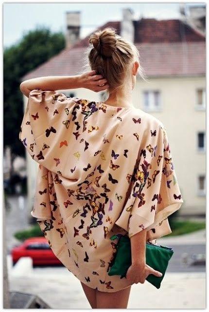 5ee173ee177 3 façons de porter le kimono - Bien habillée