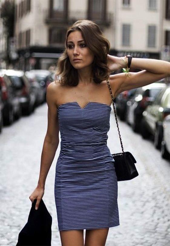 5 astuces pour bien porter une robe bustier
