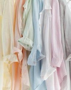 chemisiers pastels