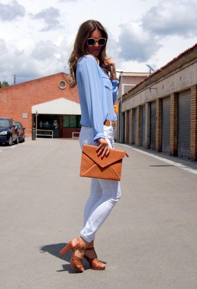 42316fbe3a45 Comment porter les couleurs pastels   - Bien habillée