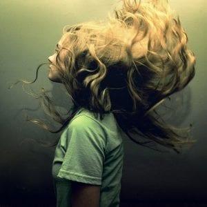 cheveux rincage