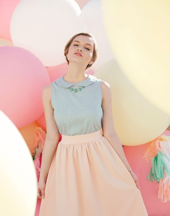 taille 40 recherche d'officiel sortie en ligne Comment porter les couleurs pastels ? - Bien habillée