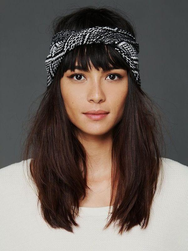 5 id es pour accessoiriser sa coiffure bien habill e - Coiffure headband cheveux courts ...