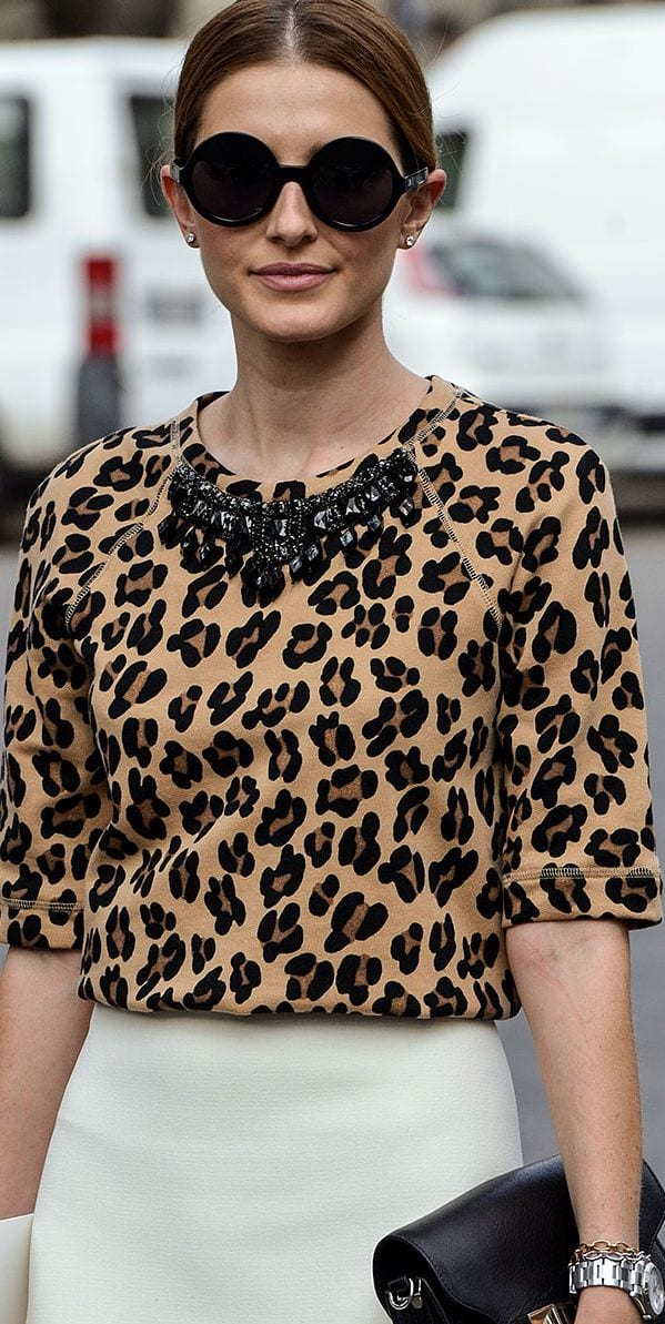 grand choix de f5ba2 18acf Comment porter l'imprimé léopard ? - Bien habillée