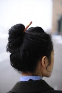 pic à cheveux