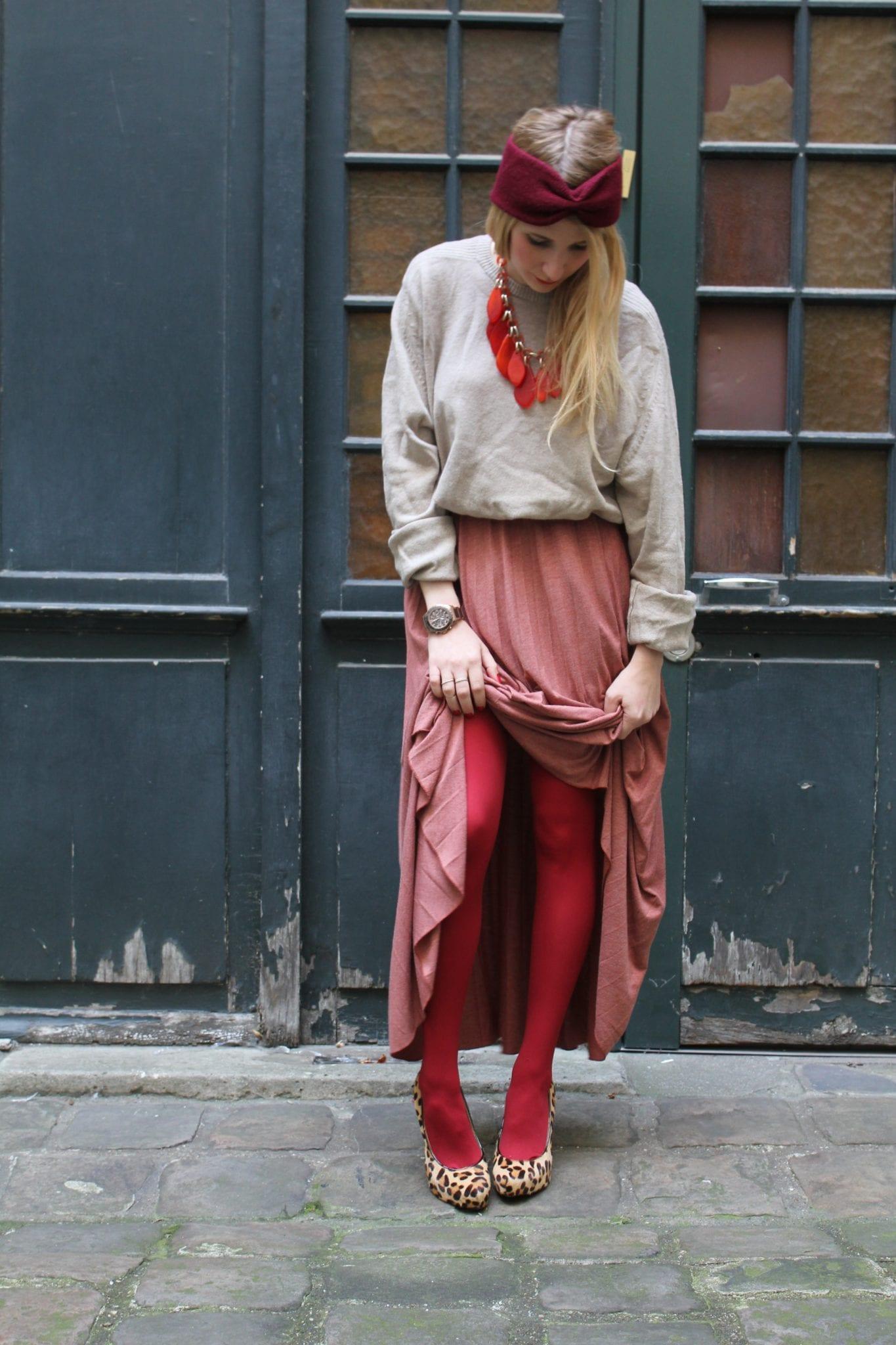 Comment porter l 39 imprim l opard bien habill e for Quelle couleur porter avec du rouge