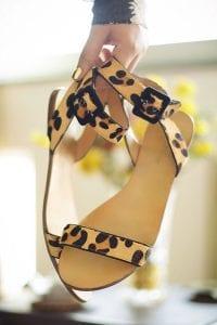 Leopard sandales
