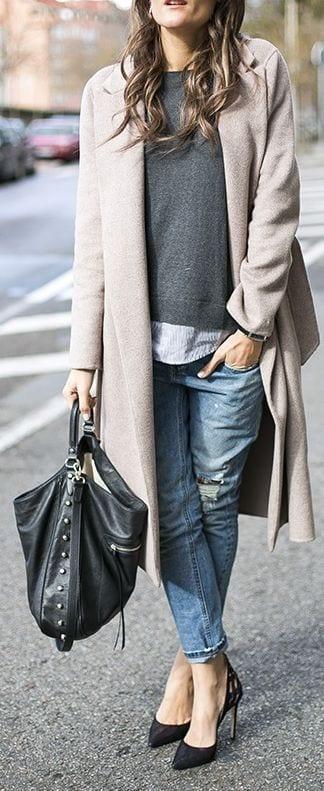 Comment porter ses habits d t en hiver bien habill e - Comment raviver un vetement noir ...