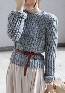 robe pull ceinture camel