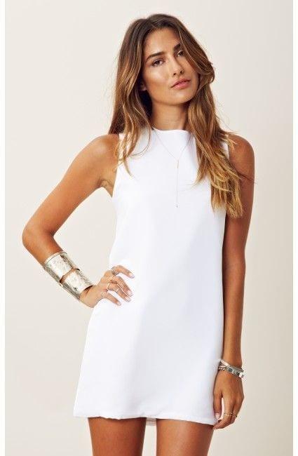 robe-blanche-silhouette