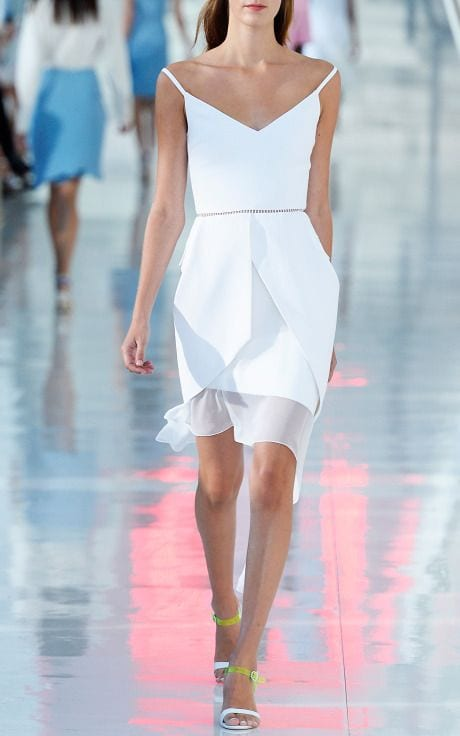 robe blanche A