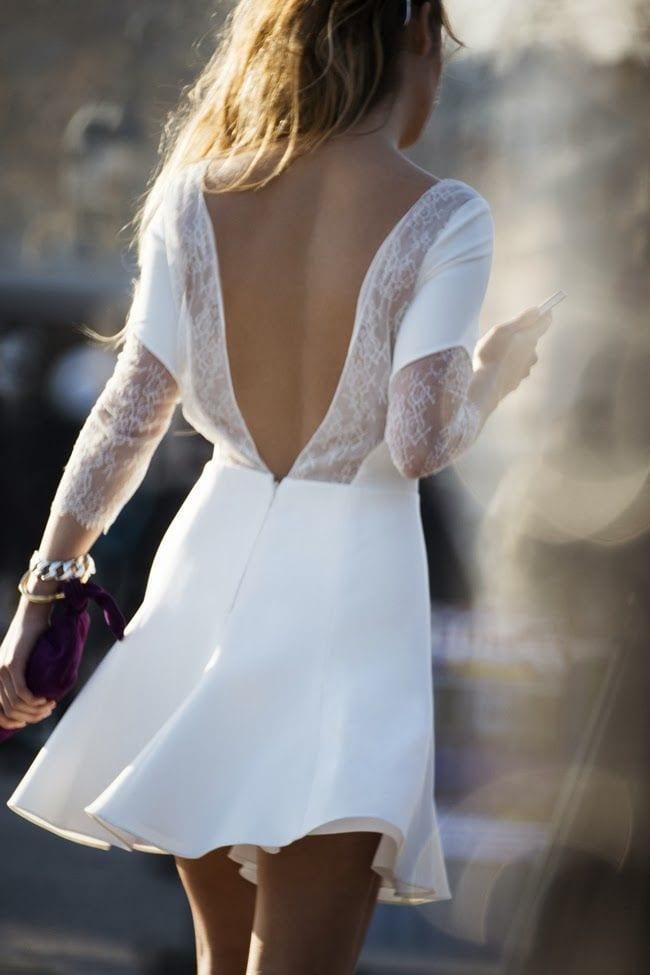 Comment bien porter la robe blanche bien habill e for Qu est ce qu une robe de trompette