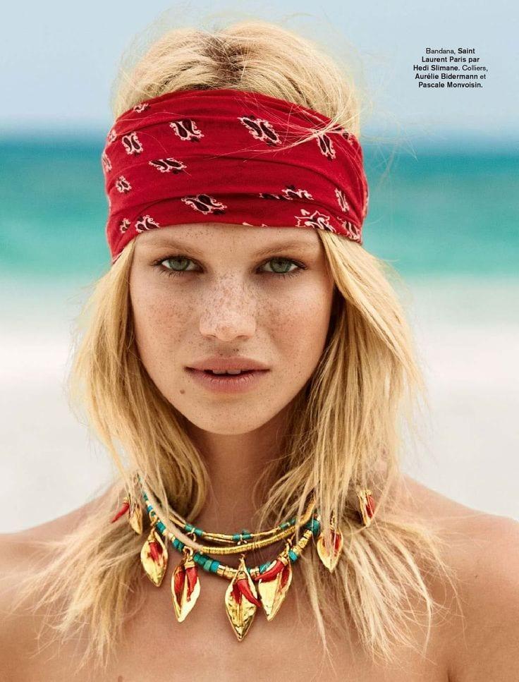 foulard plage