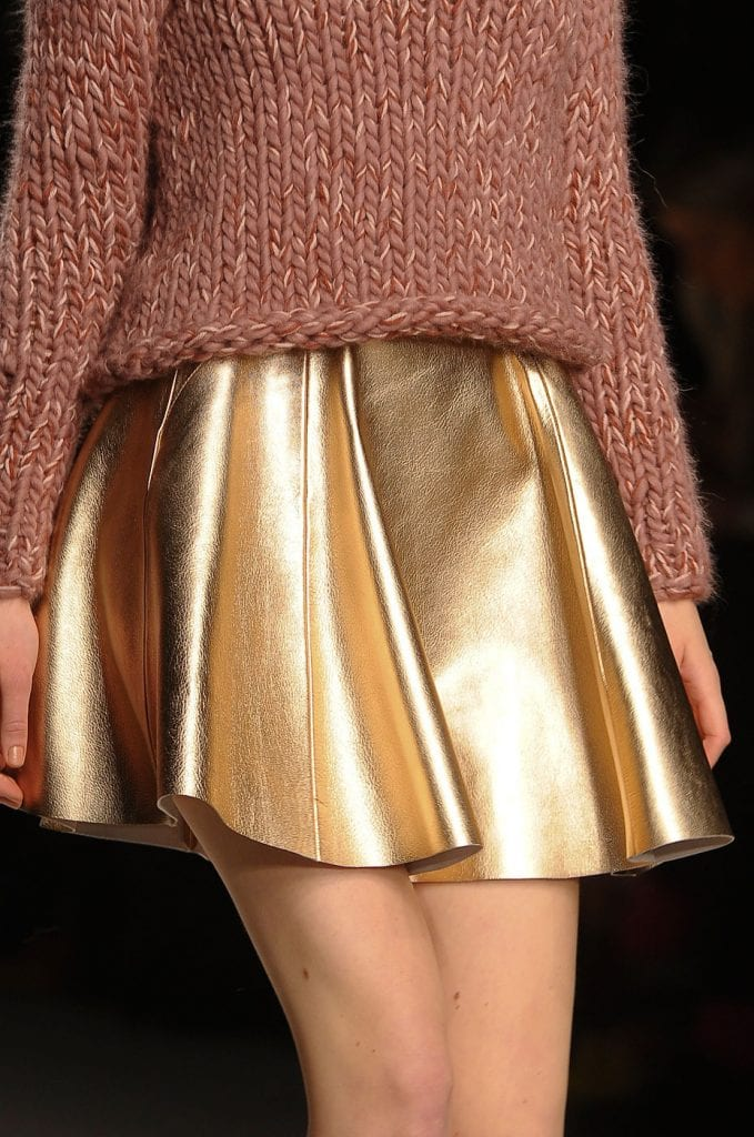 jupe dorée