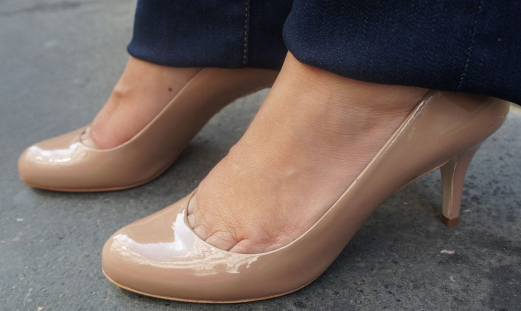 Chaussures nude_censored