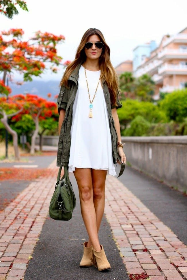 parka et bottines