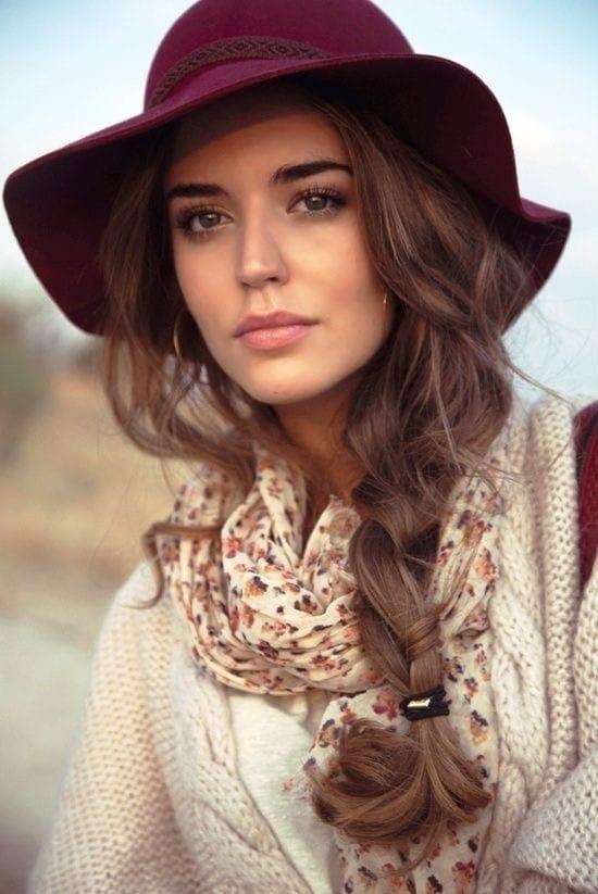 porter chapeau femme