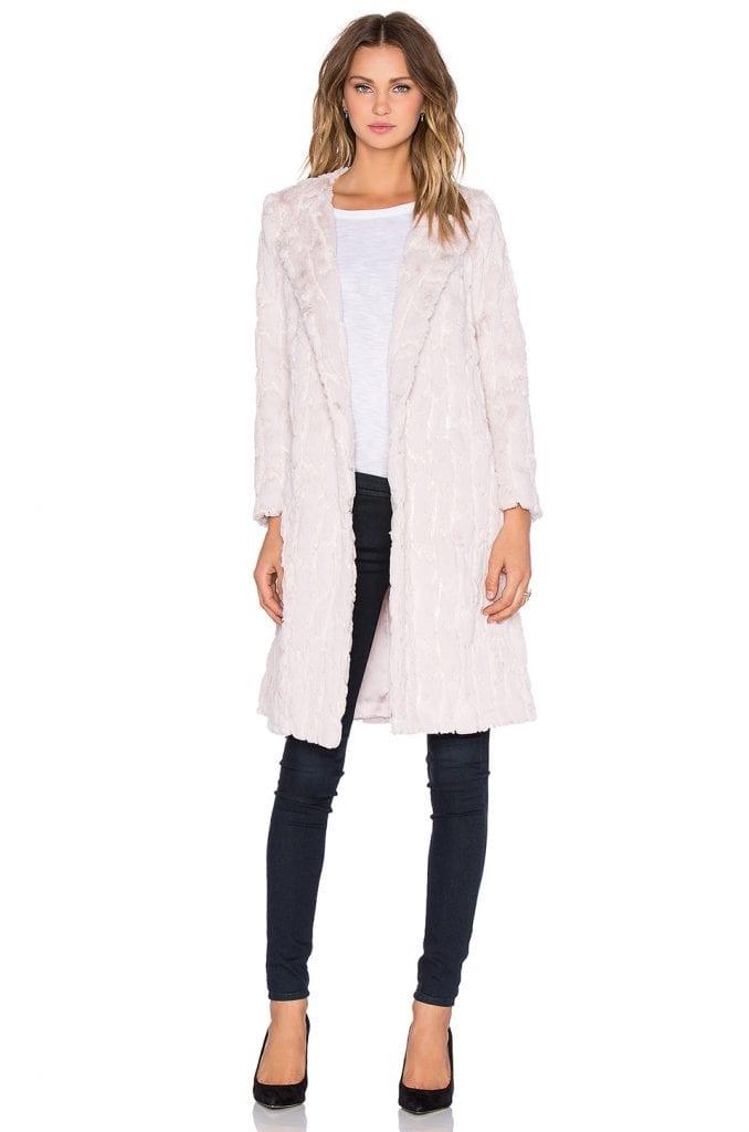 manteau et jean