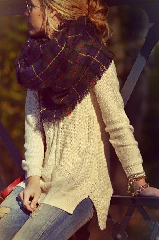 Comment bien porter une écharpe pour femme   - Bien habillée 9ce300b92f6