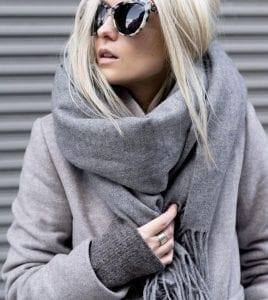 écharpe-grise