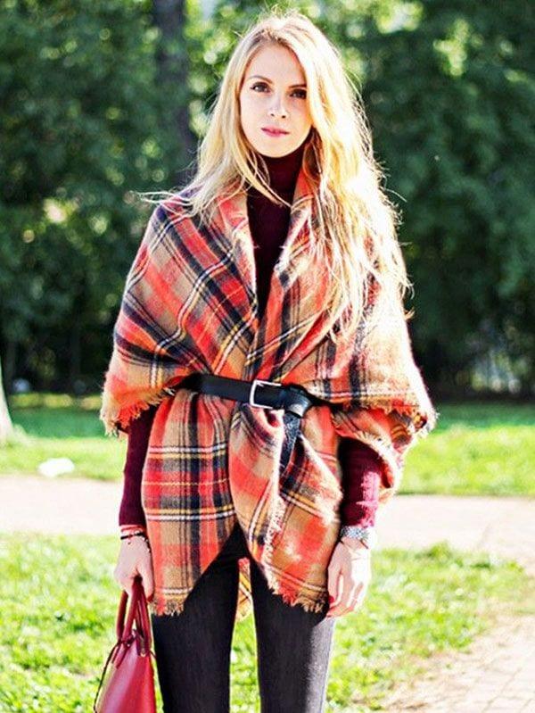 a71421a3b04d Comment bien porter une écharpe pour femme   - Bien habillée