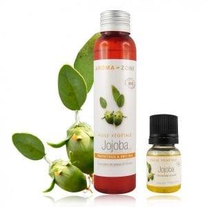 soin naturel huile jojoba peau cheveux