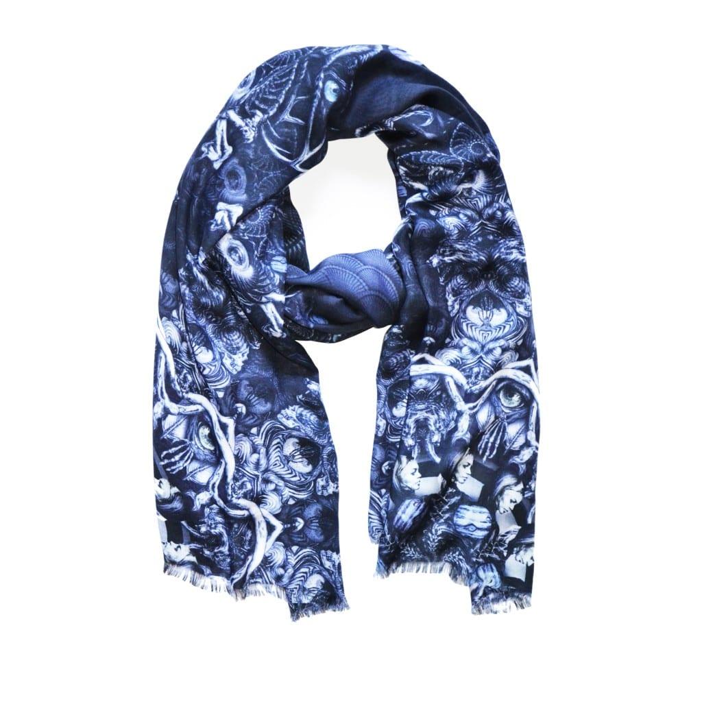Comment bien porter une écharpe pour femme   - Bien habillée 1034ed7b616