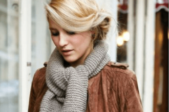 Comment bien porter une écharpe pour femme ?