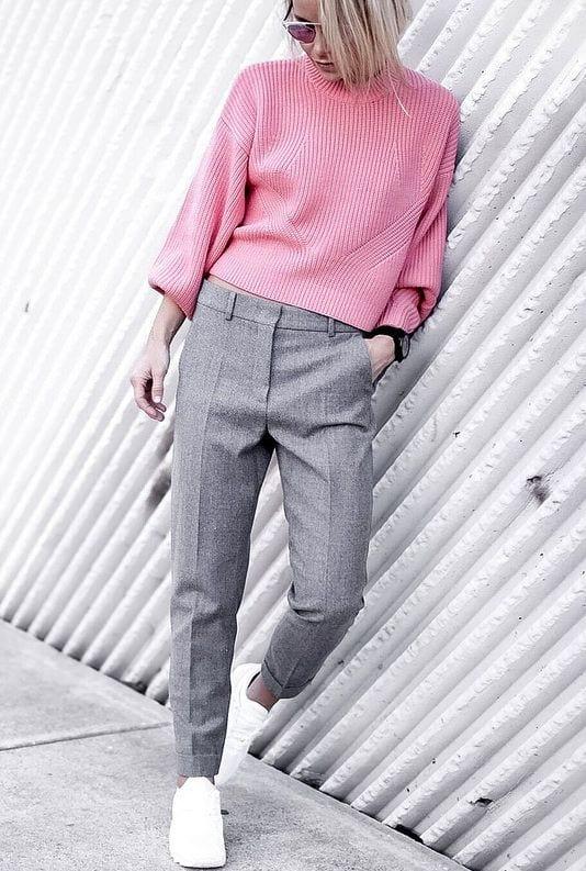 Comment porter le rose en hiver bien habill e for Quelle couleur avec le fushia