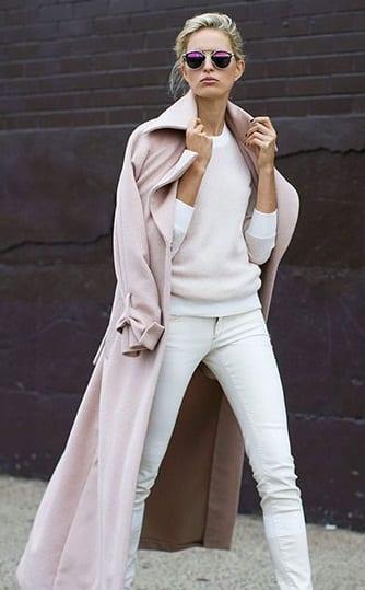 manteau-pastel-pantalon-blanc