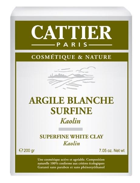 argile blanche cattier