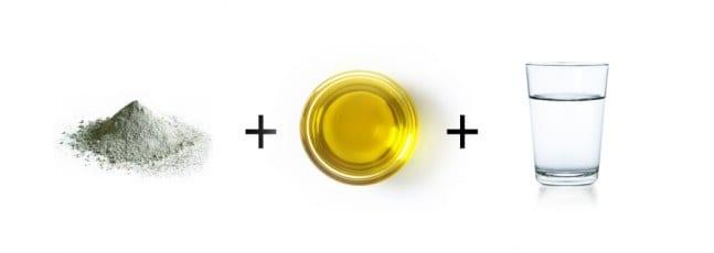 recette argile huile végétale beauté