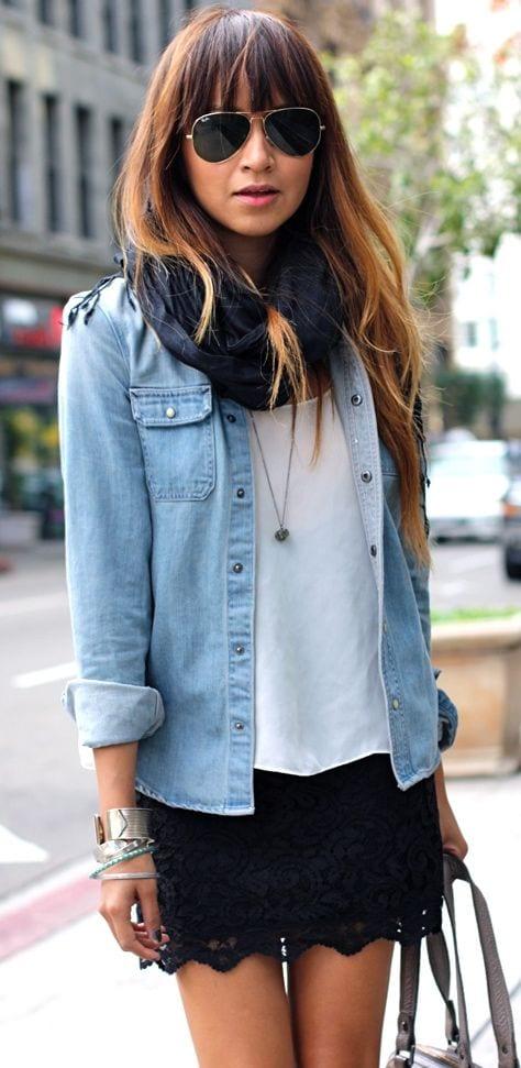 look-chemise-jean