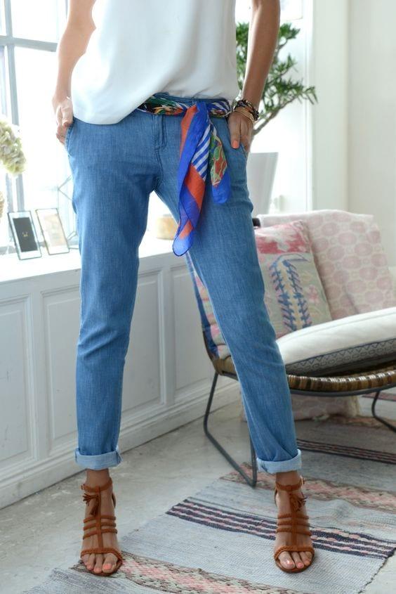 ceinture foulard