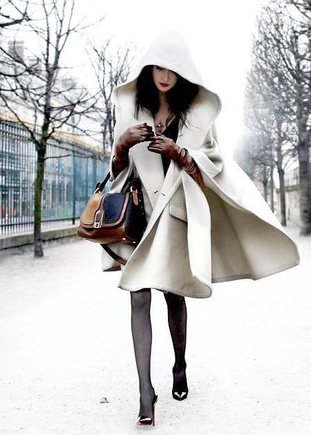 collants en hiver