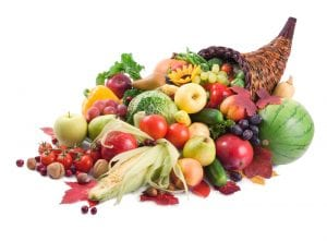 fruits-légumes-colorés-vitamines-beauté-cheveux