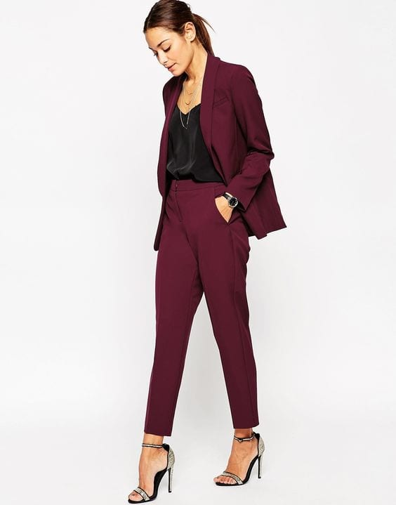 pantalon-tailleur-top