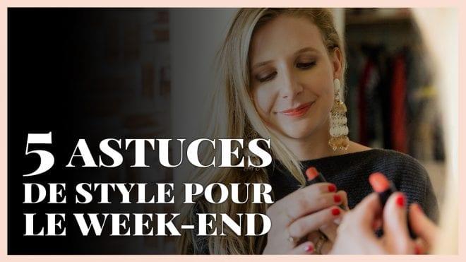 5 astuces pour bien s'habiller quand on part en week-end
