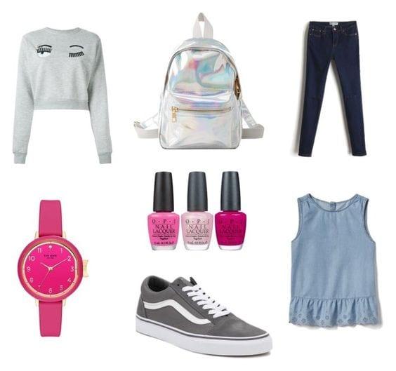tenue style ado