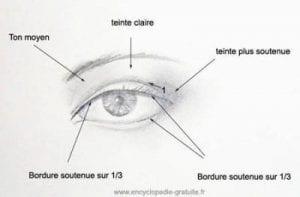 tutoriel maquillage des yeux marrons