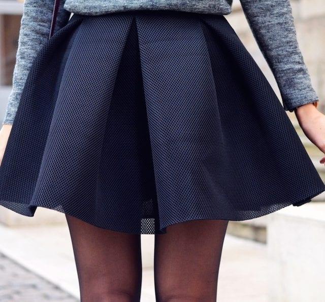 Comment porter la jupe patineuse ?