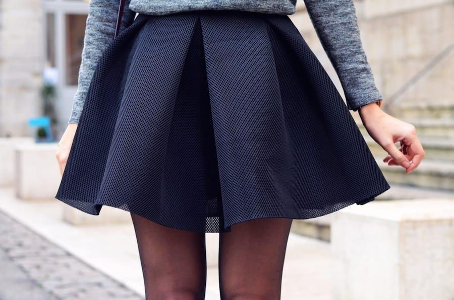 Comment porter la jupe patineuse   - Bien habillée 090cae15a057