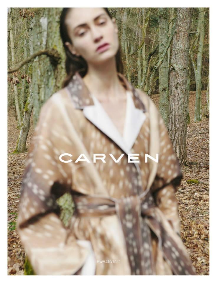 Publicité Carven - Pourquoi vous devriez arrêter de lire des magazines de mode
