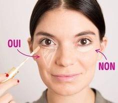 Utiliser l'anti cernes - les bonnes pratiques pour paraître moins fatiguée