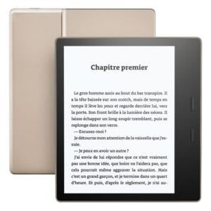 la kindle amazon dorée