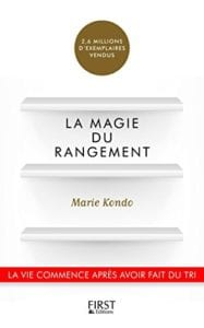 Livre de Marie Kondo