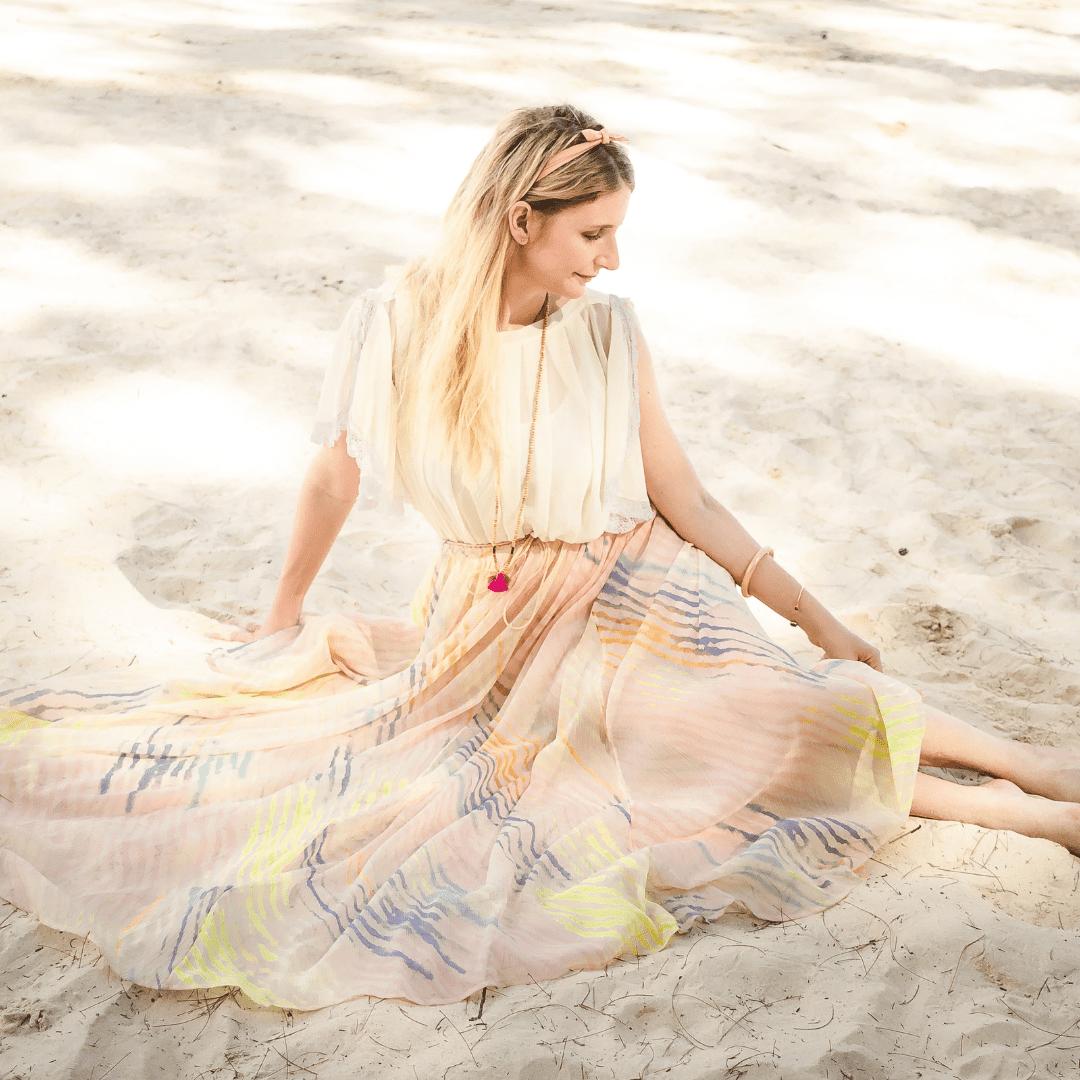 emma sur la plage instagram